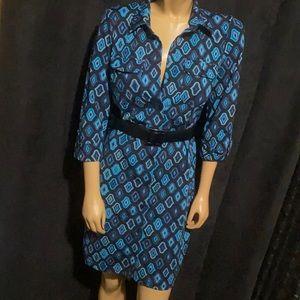 ‼️Ann Taylor Beautiful Belted Dress
